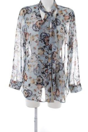 Alba Moda Langarm-Bluse Blumenmuster Elegant
