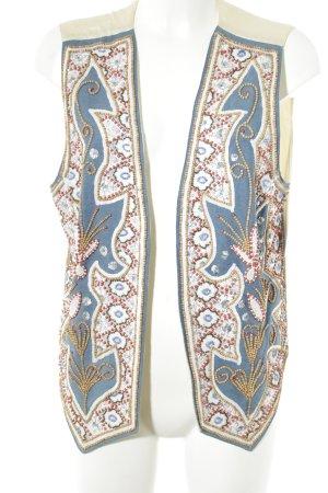 Alba Moda Long Sleeve Blouse floral pattern vintage look