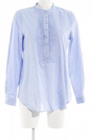 Alba Moda Long Sleeve Shirt azure flecked business style
