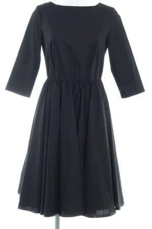Alba Moda Jurk met lange mouwen zwart klassieke stijl