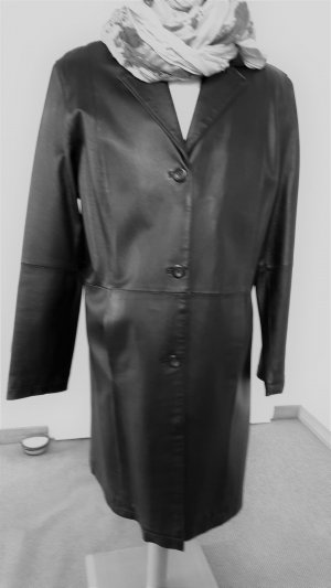 Alba Moda Leder Mantel bzw. Gehrock Gr. 46