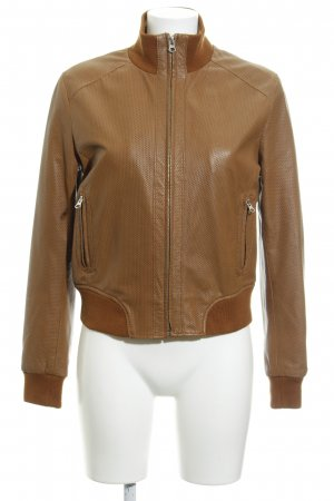 Alba Moda Leather Jacket brown casual look