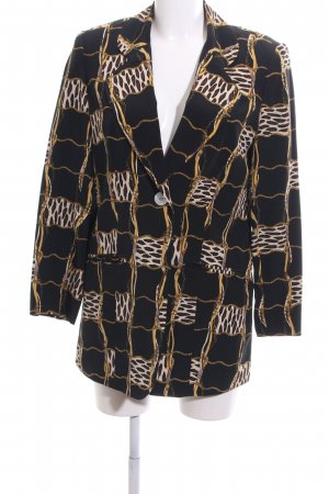Alba Moda Long-Blazer abstraktes Muster Casual-Look