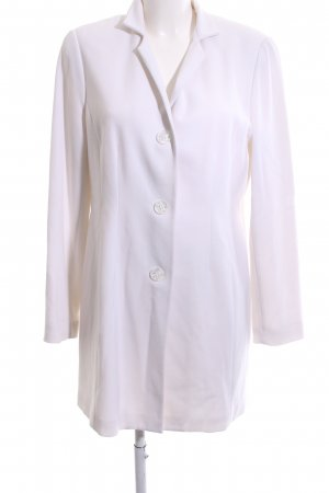 Alba Moda Blazer long blanc style d'affaires