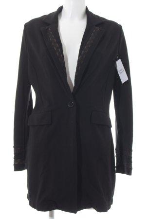 Alba Moda Blazer long noir style classique