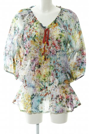 Alba Moda Lange blouse bloemen patroon casual uitstraling