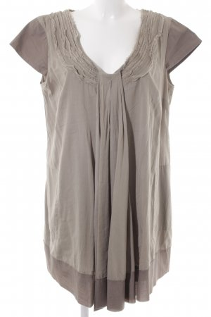 Alba Moda Lang shirt lichtbruin casual uitstraling