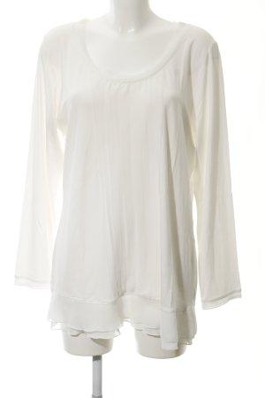 Alba Moda Longesleeve wit casual uitstraling