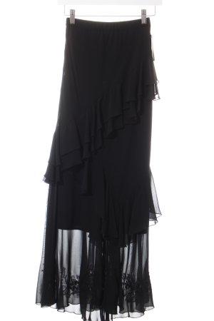 Alba Moda Maxirock schwarz Elegant