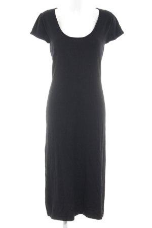Alba Moda Midi-jurk zwart casual uitstraling