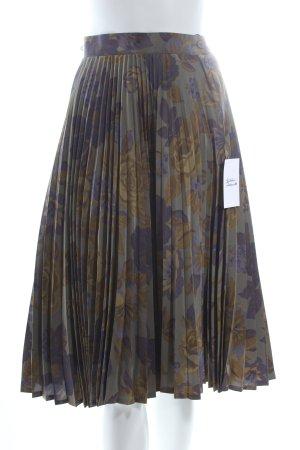Alba Moda Plisseerock Blumenmuster schlichter Stil