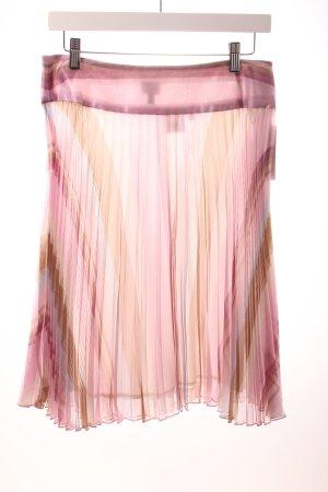 Alba Moda Plisseerock Streifenmuster klassischer Stil