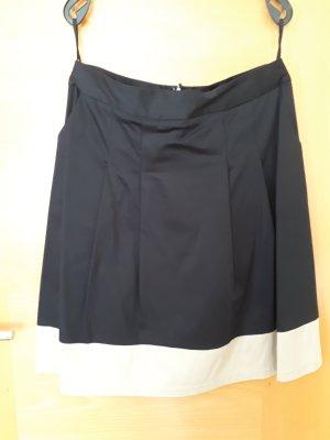 Alba Moda Falda midi negro-beige claro Algodón