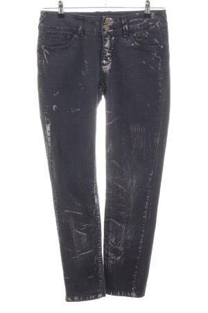 Alba Moda Jeans a sigaretta nero stile casual