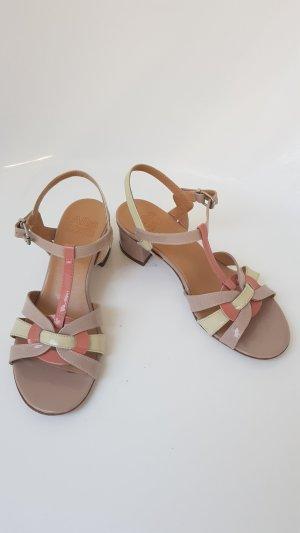 Alba Moda Sandalo con cinturino e tacco alto beige chiaro-rosa antico