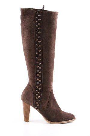 Alba Moda Jackboots brown casual look