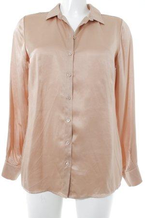 Alba Moda Blusa in seta rosa antico elegante