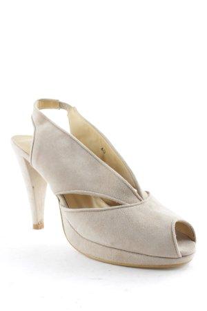 Alba Moda Slingback-Pumps beige Elegant