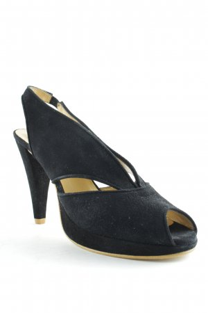 Alba Moda Slingback Pumps black elegant