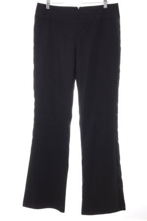 Alba Moda Pantalon en jersey noir élégant