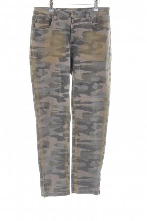 Alba Moda Stretch Jeans Camouflagemuster Casual-Look