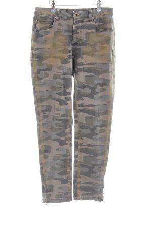 Alba Moda Jeans elasticizzati Motivo mimetico stile casual