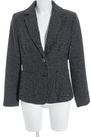 Alba Moda Strickblazer weiß-schwarz Casual-Look