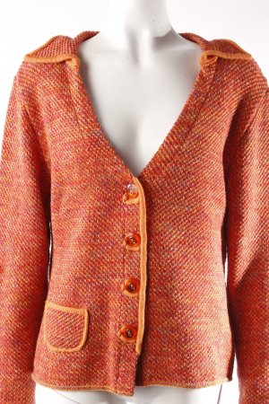 Alba Moda Strickjacke orange