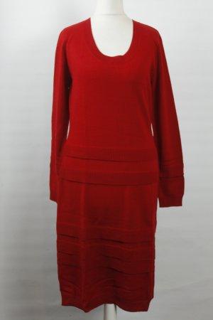 Alba Moda Strickkleid Gr. 36 rot