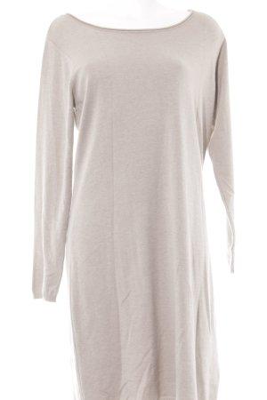 Alba Moda Robe en maille tricotées beige clair style décontracté