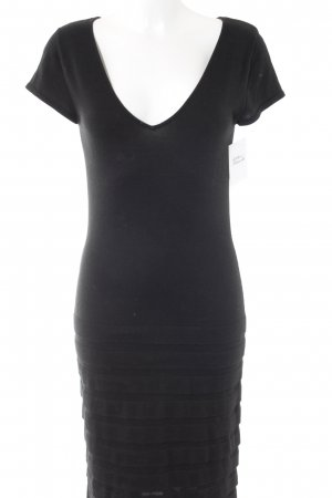 Alba Moda Knitted Dress black casual look