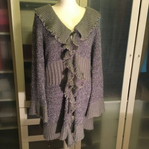 Alba Moda Knitted Coat dark grey
