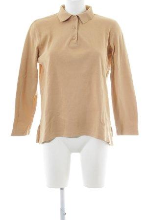 Alba Moda Sweatshirt sandbraun Casual-Look