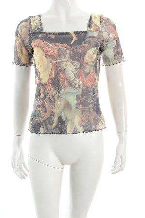 Alba Moda T-Shirt mehrfarbig extravaganter Stil
