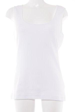 Alba Moda Canotta a bretelle bianco stile casual