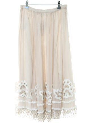 Alba Moda Tulle Skirt natural white elegant