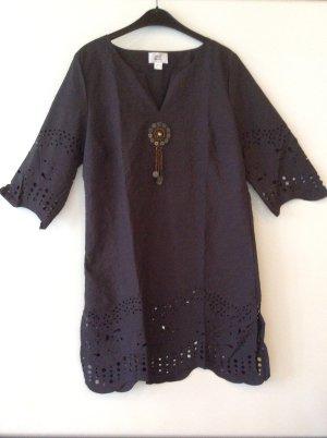 Alba Moda Tunika Kleid Gr 40 braun Ethnostil