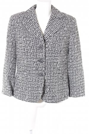 Alba Moda Tweedblazer schwarz-weiß Glencheckmuster Brit-Look