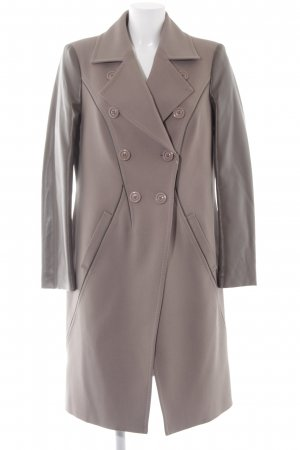 Alba Moda Between-Seasons-Coat grey brown-brown masculine look