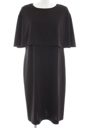 Alba Moda Flounce Dress black business style