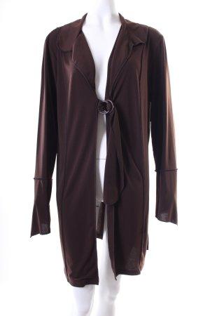 Alba Moda Weste dunkelbraun schlichter Stil