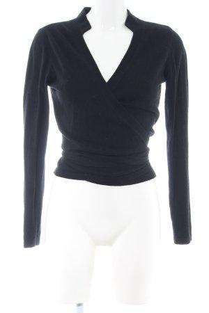 Alba Moda Wraparound Jacket black casual look