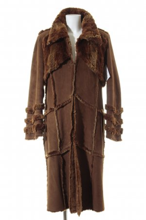 Alba Moda Wintermantel camel Casual-Look