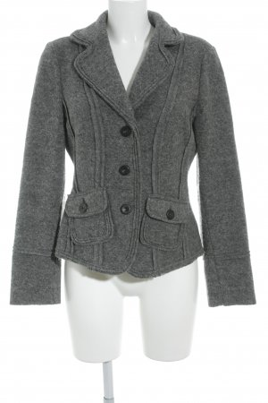 Alba Moda Woll-Blazer grau Business-Look