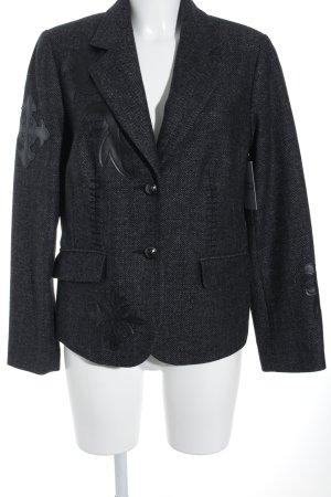 Alba Moda Woll-Blazer schwarz-grau Street-Fashion-Look