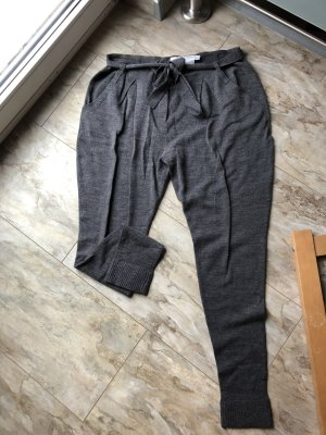Alba Moda Woolen Trousers grey-dark grey