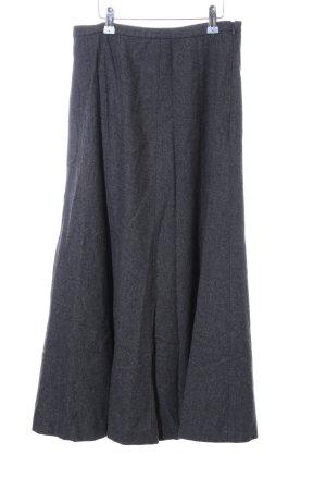 Alba Moda Gonna di lana grigio chiaro puntinato stile casual