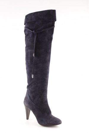 Albano Heel Boots dark blue casual look