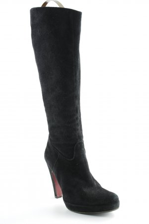 Albano High Heel Boots black simple style