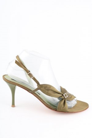 Albano Strapped High-Heeled Sandals gold-colored elegant